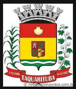 Prefeitura de Taquarituba – SP divulga novo Processo seletivo: Até R$15mil - Notícias Concursos