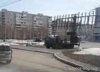 Russian newest radar system spotted in downtown Orenburg - defence-blog.com