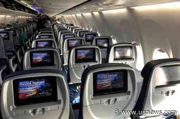 Empty Middle Airplane Seat Could Cut Coronavirus Exposure by up to 57%: CDC - U.S. News & World Report