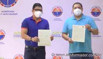 Alcalde de Pijiño del Carmen firma convenio que beneficiará a su población estudiantil - El Informador - Santa Marta