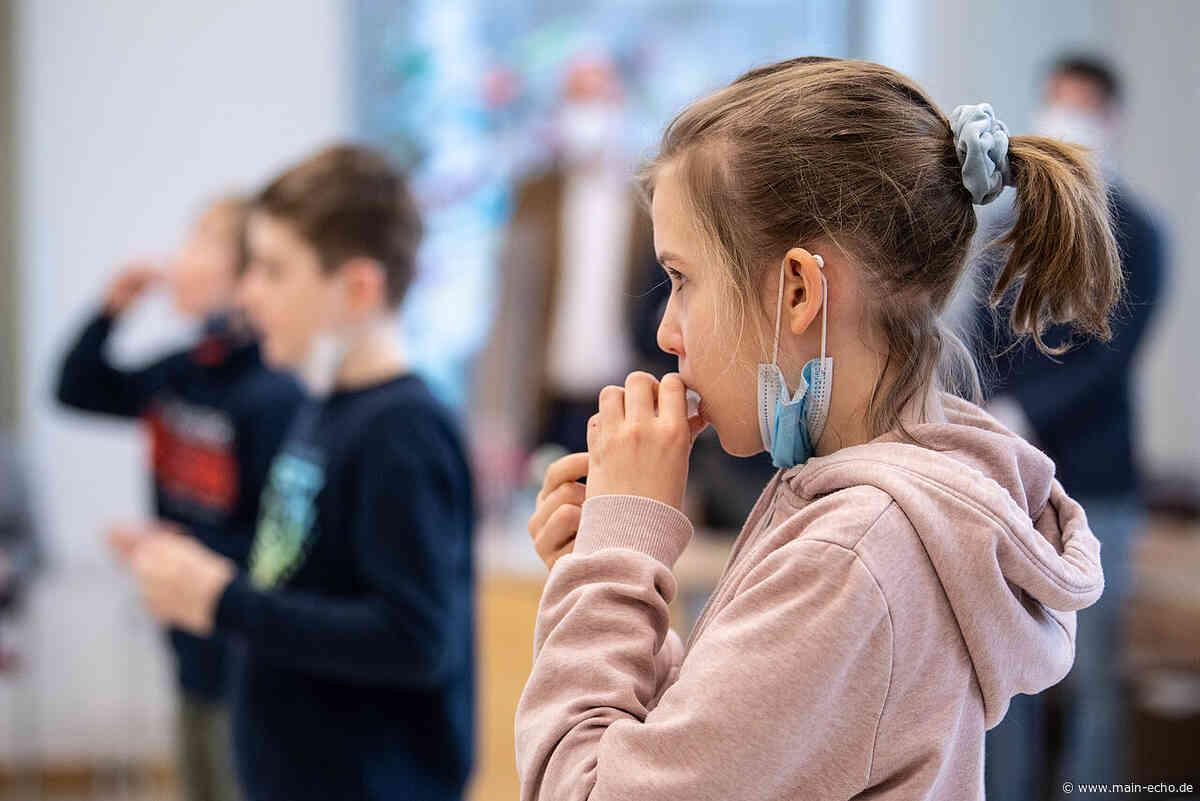 """Corona-Selbsttests an Schulen in Aschaffenburg: """"Es läuft besser als gedacht"""" - Main-Echo"""
