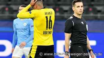 Champions League: Trotz großem Kampf gegen Man City: Aus für den BVB