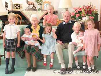 Royals release previously unseen pictures of family with Prince Philip