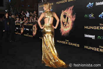 Great Outfits in Fashion History: Jennifer Lawrence in a Golden Prabal Gurung Gown - Fashionista