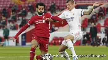 Champions League: 0:0 gegen FC Liverpool reicht: Kroos mit Real im Halbfinale