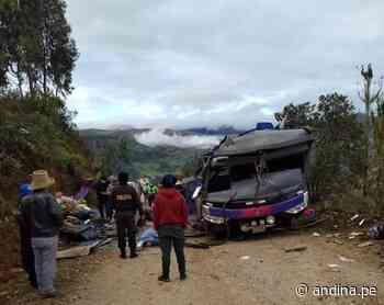 Accidente en Áncash: 15 heridos son atendidos en el hospital de Pomabamba - Agencia Andina