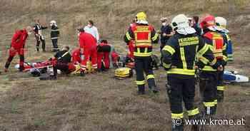 Illegales Rennen - Motocross-Fahrer per Heli ins Spital geflogen - Krone.at