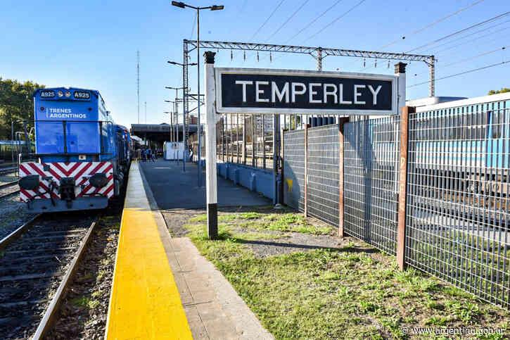 Trenes Argentinos restablece el ramal Temperley-Haedo de la linea Roca - Argentina.gob.ar Presidencia de la Nación