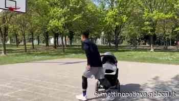 Il pick&roll speciale di papà e figlioletta: da Mestrino al web passando per il campetto - Il Mattino di Padova