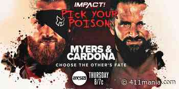 Pick Your Poison and More Set For Tomorrow Night's Impact Wrestling - 411mania.com