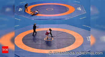 Asian Wrestling Championship: India's Ashu loses in bronze medal playoffs - Times of India