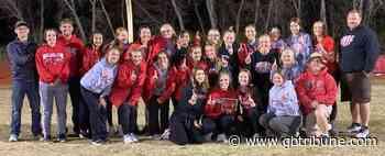 Cardinal girls sweep Ellsworth track title - GREAT BEND TRIBUNE - Great Bend Tribune