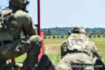 Competitors vie for Best Sniper title, relish chance to learn new skills - Stars and Stripes