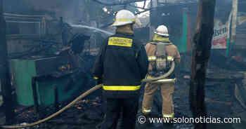 Incendio daña cuatro ranchos de playa Las Tunas, en Conchagua - Solo Noticias