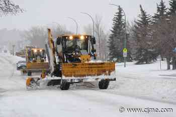 City of Regina crews, truck drivers react to wintery conditions - News Talk 980 CJME
