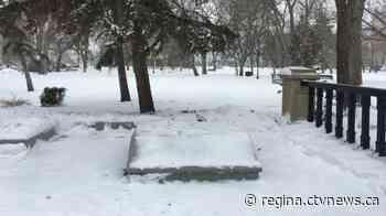 John A. Macdonald statue removed from Regina's Victoria Park - CTV News