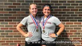Brownwood tennis secures second district title, third regional berth - Brownwood News