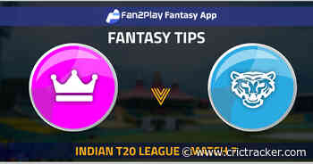 Indian T20 League 2021: Match 7 RAJ vs DEL – Fan2Play Fantasy Cricket Tips, Prediction, Playing XI and Pitch Report - CricTracker