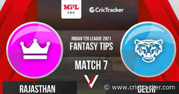 Indian T20 League 2021: Match 7 – Rajasthan vs Delhi – MPL Fantasy Cricket Tips, Prediction, Playing XI, and Pitch Report - CricTracker