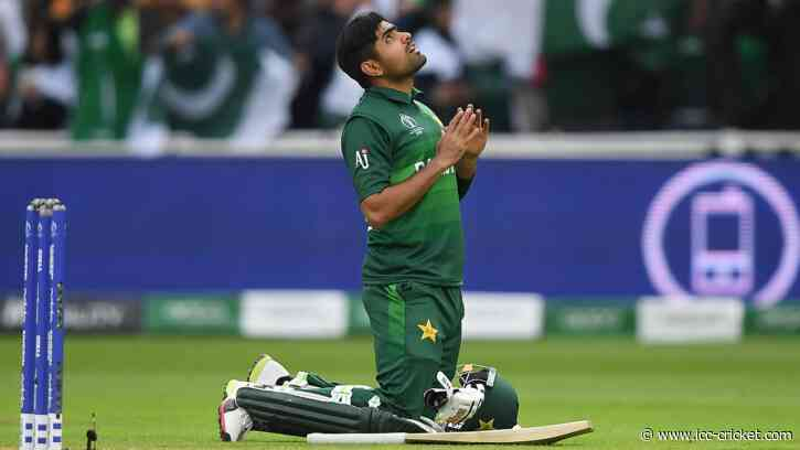From tape-ball cricket to the top of the world: Babar Azam's incredible rise - International Cricket Council