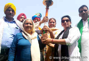 Gatka, cricket... all part of Baisakhi bonhomie at Tikri border - The Tribune India