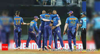 IPL 2021: Mumbai Indians stun Kolkata Knight Riders by 10 runs - Times of India