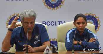 Cricket: BCCI advertises for India women's team head coach, to also handle U-19 and India A sides - Scroll.in