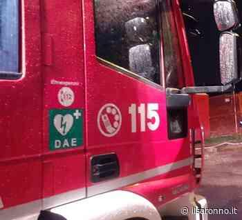 Scontro auto e moto tra Solaro e Cesate: i pompieri liberano conducente all'auto - ilSaronno