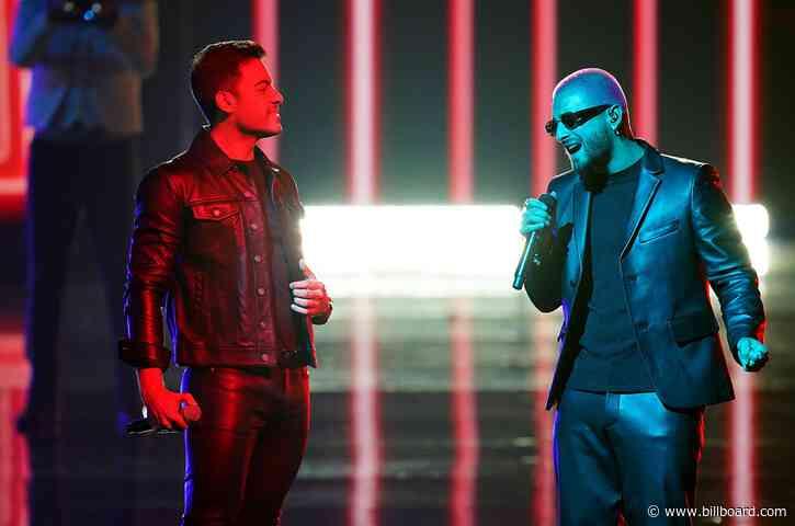 Carlos Rivera & Maluma's '100 Años' Hits Top 10 on Latin Pop Airplay Chart