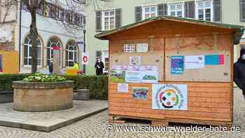 Rottenburg: Anlaufstelle für Integration auf Marktplatz kommt gut an - Schwarzwälder Bote