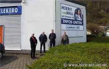 Erste Videowall in Bad Breisig - Blick aktuell
