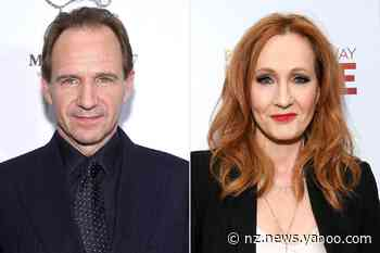 Ralph Fiennes 'Can't Understand' 'Hatred' Toward J.K. Rowling After Her Controversial Trans Comments - Yahoo News NZ