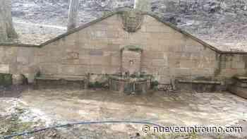 La Rioja Logroño limpia la Fuente del Encino, afectada por el incendio de Varea La concejalía - NueveCuatroUno