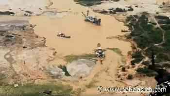 Minería ilegal de oro desapareció río Nechí en Bajo Cauca antioqueño - Noticias RCN