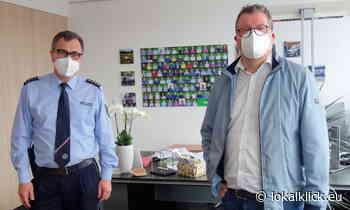 Bürgermeister empfängt Leiter der Polizeiwache Kevelaer im Rathaus - Lokalklick.eu - Online-Zeitung Rhein-Ruhr