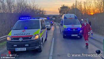 Bgld: Kollision zwischen Moped und Traktor in Sebersdorf (Bad Waltersdorf) → zwei Verletzte - Fireworld.at