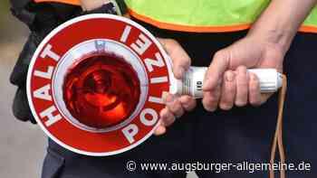 Polizei greift mit Haftbefehl gesuchten Mann in Altenstadt auf - Augsburger Allgemeine