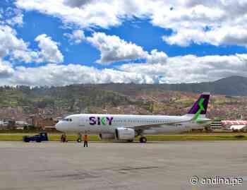 Se incrementan vuelos interregionales en rutas Cusco-Puerto Maldonado y Tarapoto-Iquitos - Agencia Andina