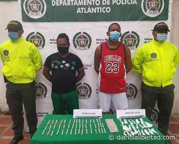 Dos capturados por tráfico de estupefacientes en Sabanalarga - Diario La Libertad