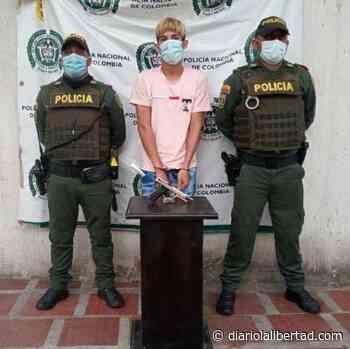 Lo capturan por porte ilegal de arma de fuego en Sabanalarga - Diario La Libertad