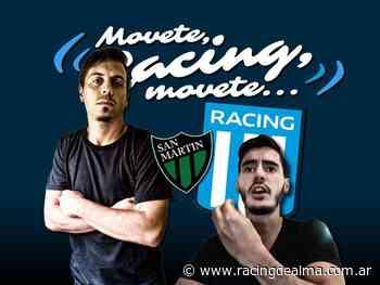 Racing - San Martín SJ: el debate del partido - Racing de Alma