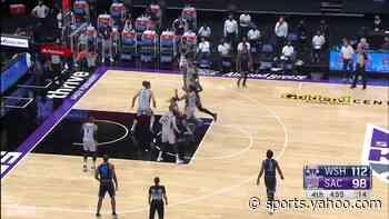 Tyrese Haliburton with a 2-pointer vs the Washington Wizards
