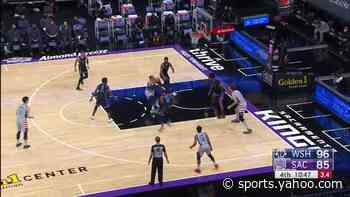 Russell Westbrook with a 2-pointer vs the Sacramento Kings