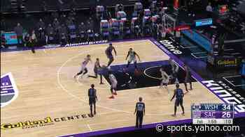 Chimezie Metu with an alley oop vs the Washington Wizards