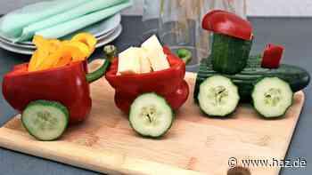 Das Auge isst mit: So richten Sie Gemüse und Obst für Kinder fantasievoll an