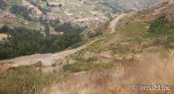 Cusco: Advierten sobre posibles derrumbes en acceso al Parque Arqueológico de Pisac - Diario Perú21