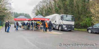 La grève à la cimenterie se poursuit - La Gazette en Yvelines