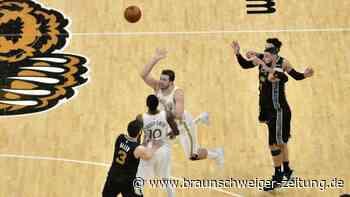 Basketball: NBA: Doncic gelingt Zauberwurf zum späten Mavericks-Sieg