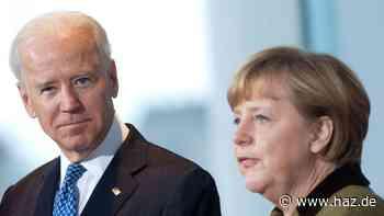 Ukraine: Merkel und Biden fordern Abzug russischer Truppen