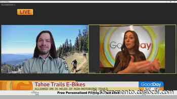 New E-Bike Accessible Trails at Tahoe National Forest - CBS Sacramento